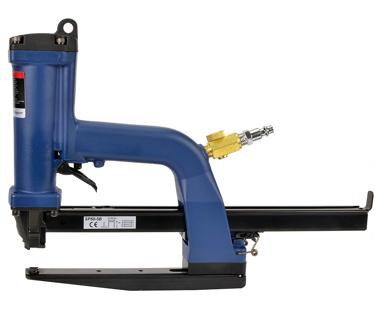 Salco SP50-10B air plier stapler. Uses SB103020 staples.