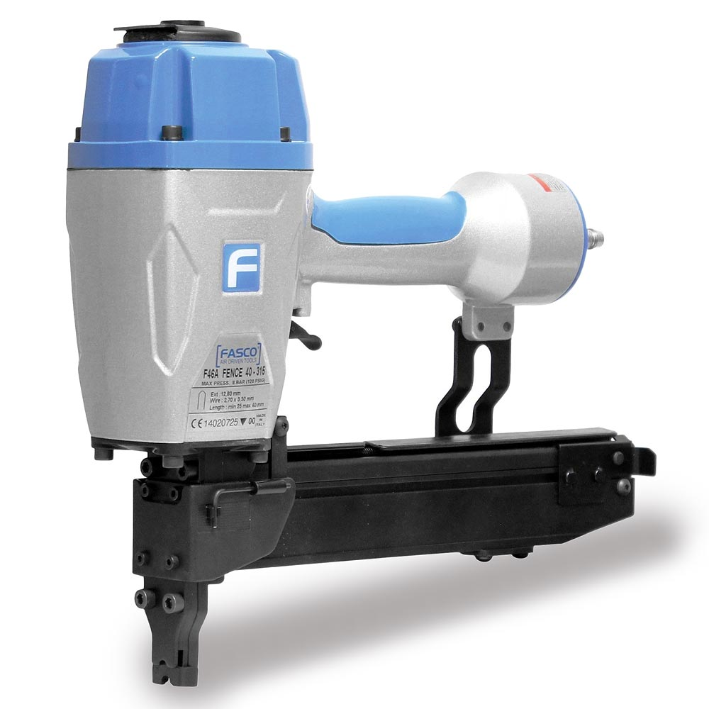 F46A 40-315 Pneumatic Fence stapler. Uses F40-315 fence staples.
