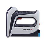 Arrow T50DCD cordless electric staple gun. Uses T50 staples